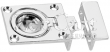 9-1051DP0CHR Flush Ring Catch