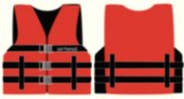 457-1000203ARD Youth Red Universal Open Side Nylon Vest