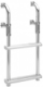 3-18017 FOLD-DOWN TRANSOM LADDER FOR SMALL BOATS