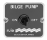29-49 ON / OFF BILGE PANEL SWITCH
