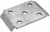 50-55161 HEAVY-DUTY AXLE U-BOLT PLATE