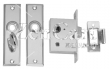 9-0960DP0CHR Mortise Latch Set