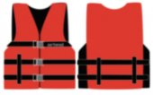 457-1000216ARD XL Red Universal Open Side Nylon Vest
