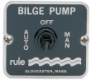 29-45 3-WAY BILGE PANEL SWITCH