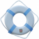 58-P17 PLASTIC RING BUOY