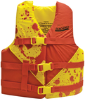 50-86170 RED/YEL DLX YOUTH VEST
